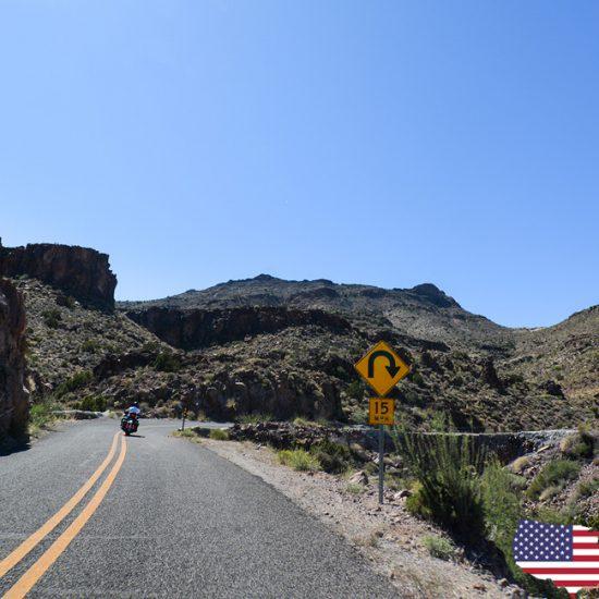 Motorrad-Touren USA - nicht nur geradeaus