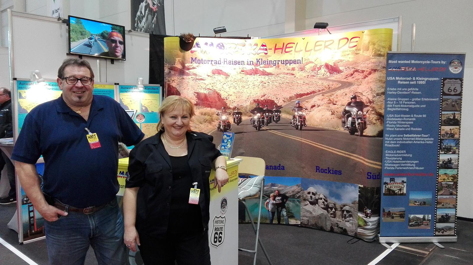 Amerika Heller Messen & Roadshows - USA Motorradreisen