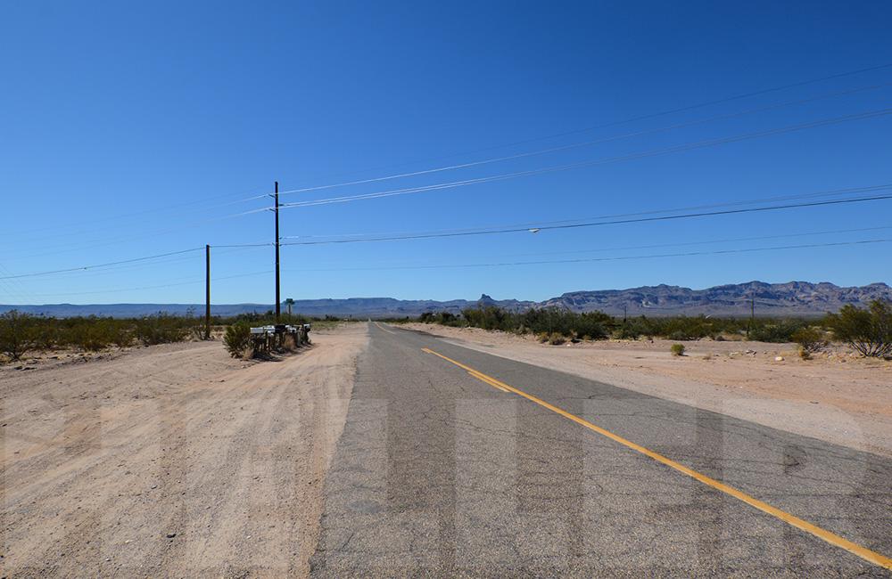 Route 66 mit der Harley - Briefkaesten, AZ