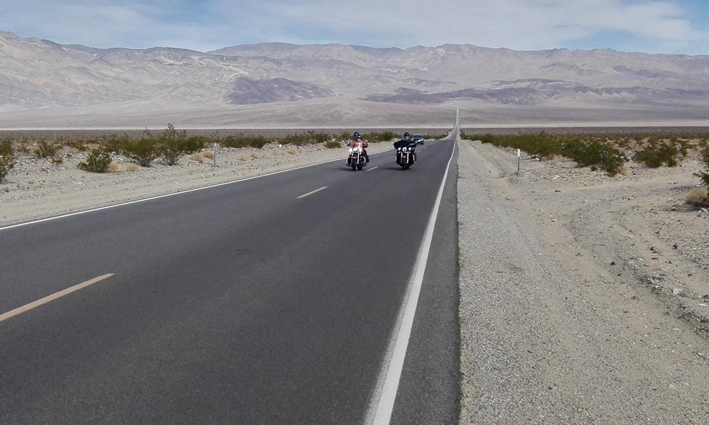 Motorrad-Reisen Death Valley- Amerika Heller