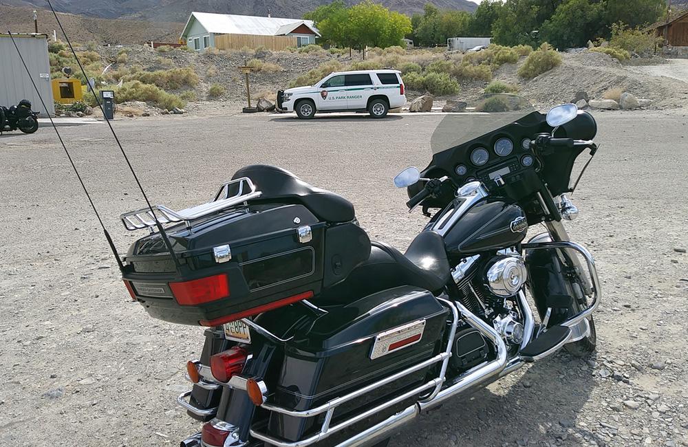 Harley im Death Valley - USA MotorradReisen
